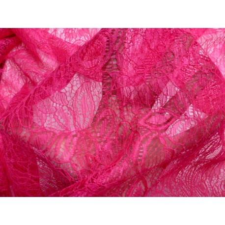 Krajka - pink růžová