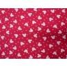Elastický žerzej - Mickymouse - malinově růžová