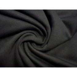 Černý elastický žerzej hladký