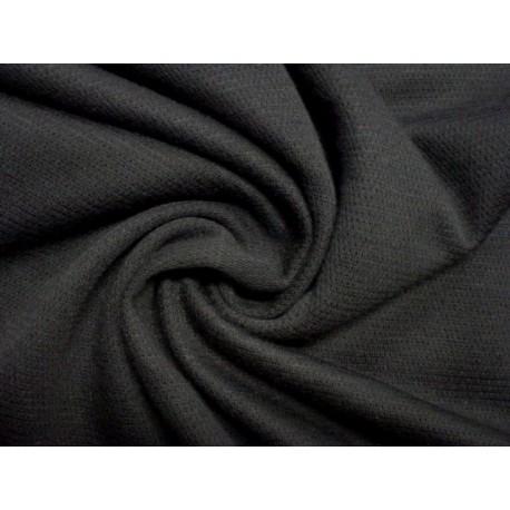 Černý elastický žerzej směsový