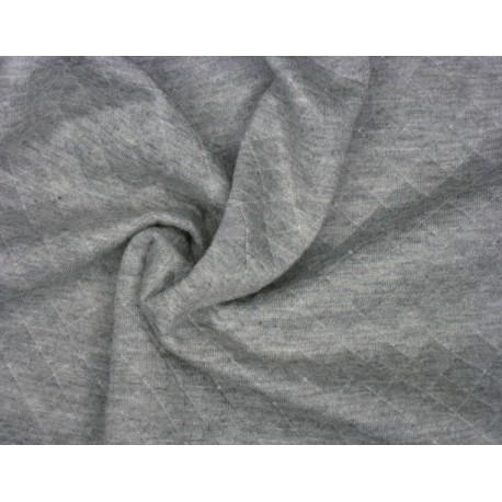 Melange šedý matlasé - diamond