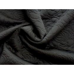 Černé matlasé - vzor růže