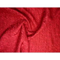 Červený společenský brokát