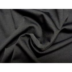 Černá krepovaná látka s elegantními třpytkami