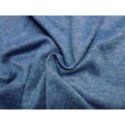 Modrý melange žerzej - zimní