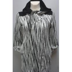 Bavlněný úplet černý - ambi - tričkovina