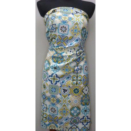 Šatovka maroco - modrozelená