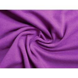 Fialová tričkovina elastická