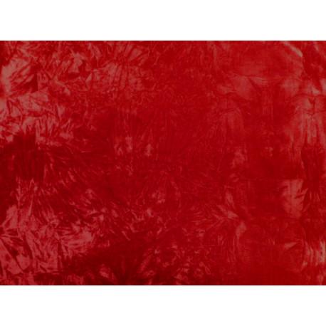 Červený elastický samet