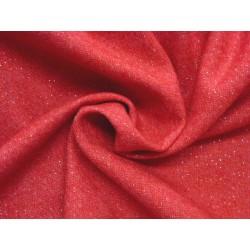 Červená kostýmovka cena za kus 1,40 m x 3,50 m II.jakost
