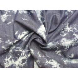 Bavlněná látka - batika jeans