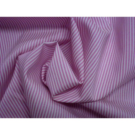 Růžové plátno elastické - podélný proužek