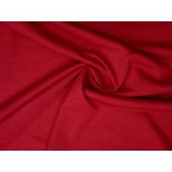 bavlněný úplet červený