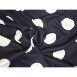 PAD úplet elastický - modrý s bílým puntíkem