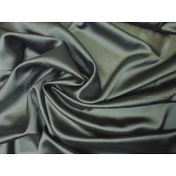 Satén elastický olivově zelený