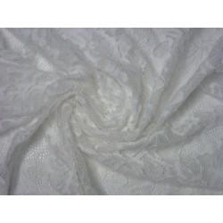 Bílá krajka elastická