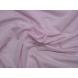 Růžový viskozový elastický úplet
