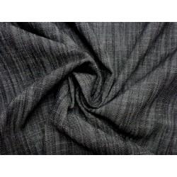 Jeansovina - grafitově šedá - letní