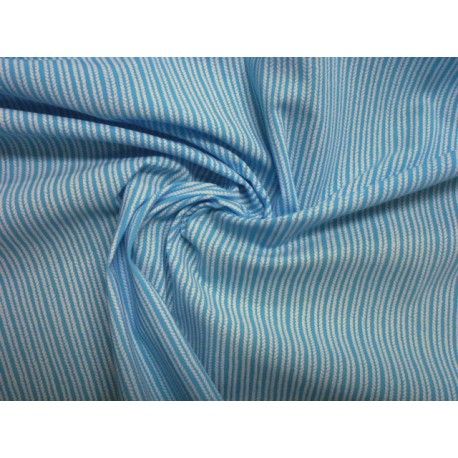 78732ecbd966 Látka metráž výprodej sleva plavkovina matná modrá