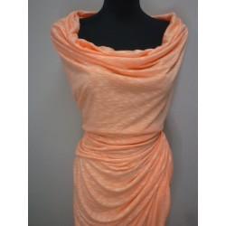 Teplákovina oranžová melange