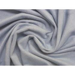 Semišový žerzej - světle modrá