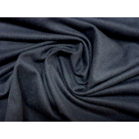 Semišový žerzej - modrá