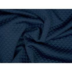 Modrý - matlasé úplet - tmavěmodrý